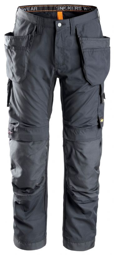 Snickers 6201 AllroundWork Work Trousers with Holster Pockets (Steel Grey)